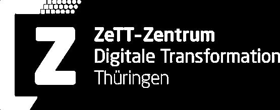 ZeTT Wort-Bild-Marke in Weiß