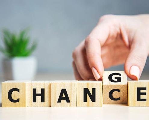 Von der Chance zur Veränderung